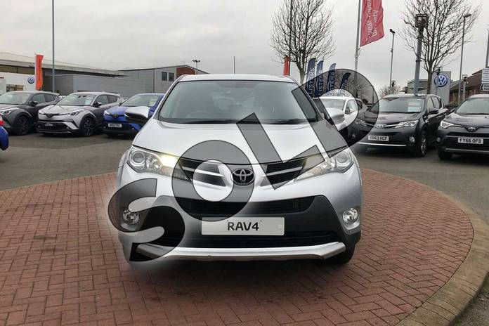 Image fifteen of this 2015 Toyota RAV4 Estate 2.0 V-Matic Invincible 5dr M-Drive S in Silver at Listers Toyota Nuneaton