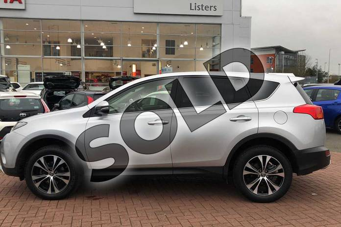 Image seventeen of this 2015 Toyota RAV4 Estate 2.0 V-Matic Invincible 5dr M-Drive S in Silver at Listers Toyota Nuneaton