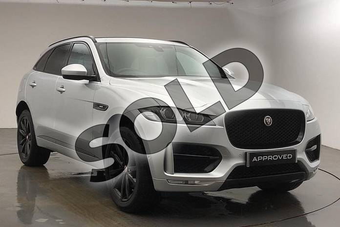 Picture of Jaguar F-PACE 2.0 i4 Diesel (180PS) R-Sport AWD in Indus Silver
