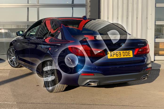 Image two of this 2020 BMW 5 Series Saloon 530e M Sport 4dr Auto in Mediterranean Blue at Listers King's Lynn (BMW)