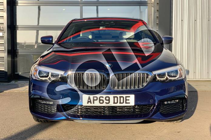 Image three of this 2020 BMW 5 Series Saloon 530e M Sport 4dr Auto in Mediterranean Blue at Listers King's Lynn (BMW)