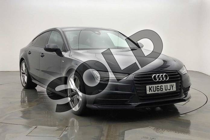 Picture of Audi A7 3.0 TDI Ultra S Line 5dr S Tronic in Moonlight Blue Metallic