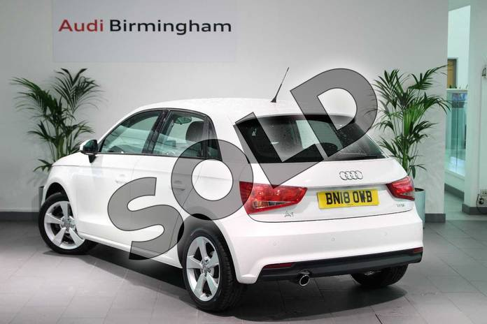 Image three of this 2018 Audi A1 Sportback 1.0 TFSI Sport Nav 5dr in Shell White at Birmingham Audi