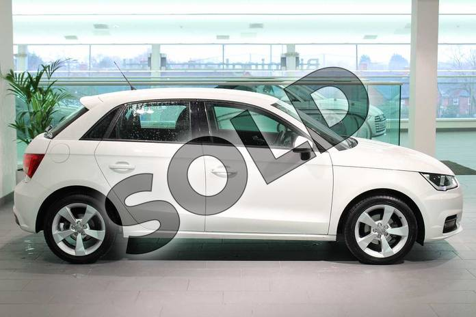Image four of this 2018 Audi A1 Sportback 1.0 TFSI Sport Nav 5dr in Shell White at Birmingham Audi