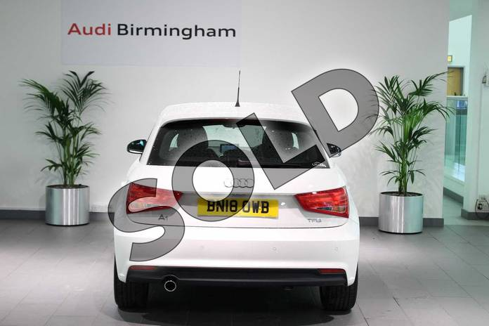 Image fourteen of this 2018 Audi A1 Sportback 1.0 TFSI Sport Nav 5dr in Shell White at Birmingham Audi