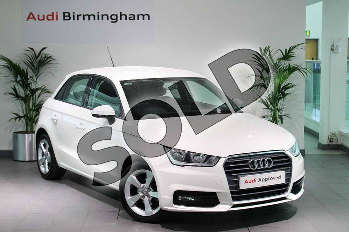 Picture of Audi A1 1.0 TFSI Sport Nav 5dr in Shell White
