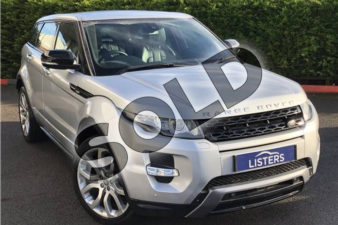Picture of Range Rover Evoque 2.2 SD4 Dynamic 5dr Auto (Lux Pack) in Metallic - Indus silver