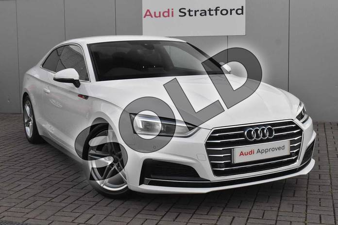 Audi A5 Diesel Coupe 2.0 TDI S Line 2dr S Tronic
