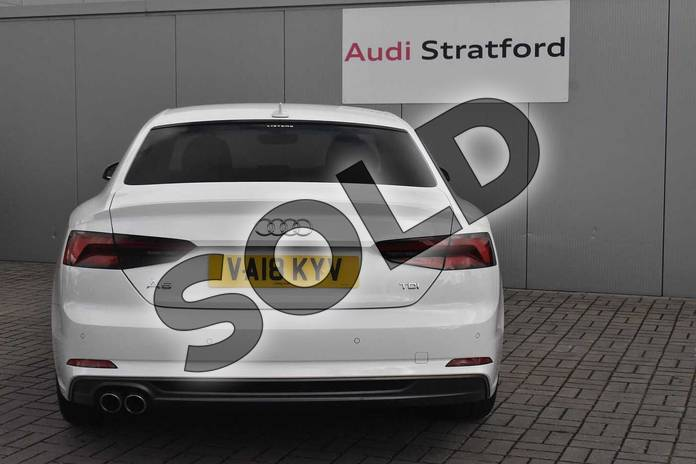 Image seven of this 2018 Audi A5 Diesel Coupe 2.0 TDI S Line 2dr S Tronic in Ibis White at Stratford Audi