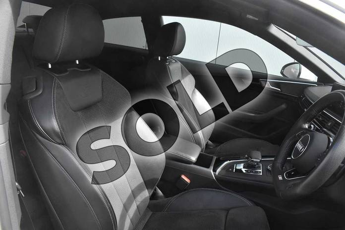 Image nine of this 2018 Audi A5 Diesel Coupe 2.0 TDI S Line 2dr S Tronic in Ibis White at Stratford Audi