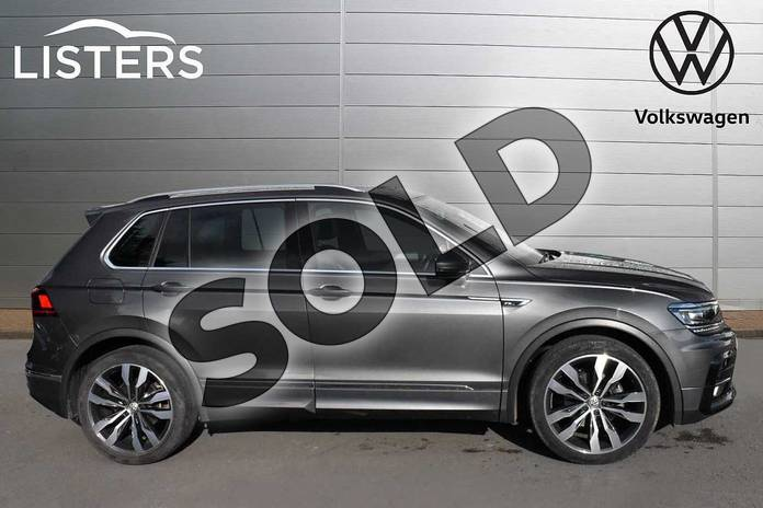 Image four of this 2018 Volkswagen Tiguan Diesel Estate 2.0 TDI 150 R Line 5dr in Indium Grey at Listers Volkswagen Evesham