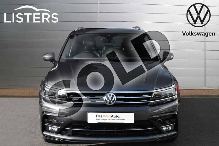 Image seven of this 2018 Volkswagen Tiguan Diesel Estate 2.0 TDI 150 R Line 5dr in Indium Grey at Listers Volkswagen Evesham