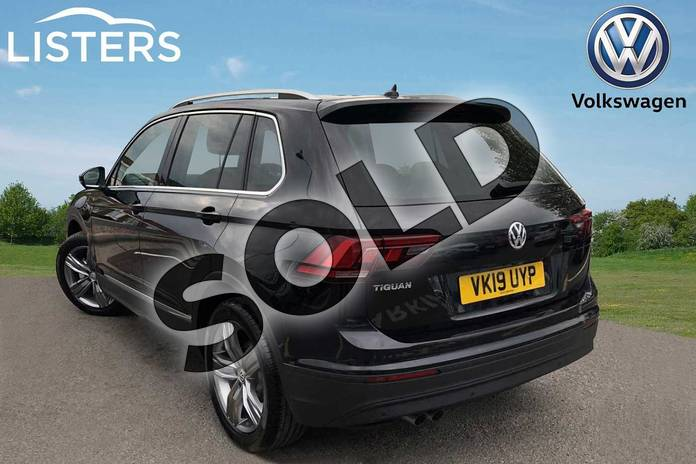 Image three of this 2019 Volkswagen Tiguan Estate 1.5 TSI EVO 150 Match 5dr in Deep black at Listers Volkswagen Worcester