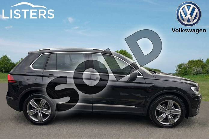 Image four of this 2019 Volkswagen Tiguan Estate 1.5 TSI EVO 150 Match 5dr in Deep black at Listers Volkswagen Worcester