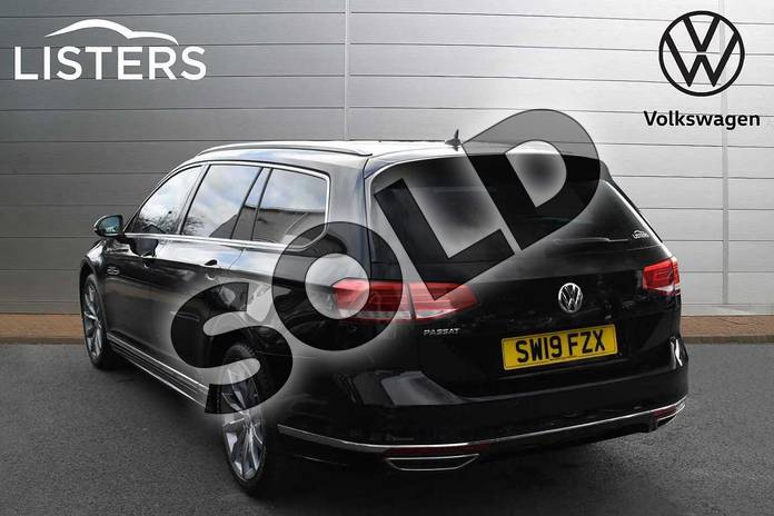 Image three of this 2019 Volkswagen Passat Estate 1.5 TSI EVO 150 R Line 5dr DSG (Panoramic Roof) in Deep black at Listers Volkswagen Evesham