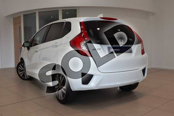 Image three of this 2017 Honda Jazz Hatchback 1.3 EX 5dr CVT in White Orchid at Listers Honda Coventry