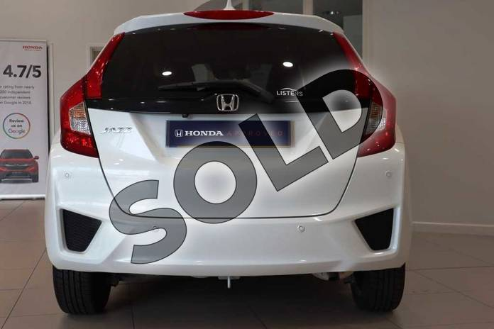 Image seven of this 2017 Honda Jazz Hatchback 1.3 EX 5dr CVT in White Orchid at Listers Honda Coventry