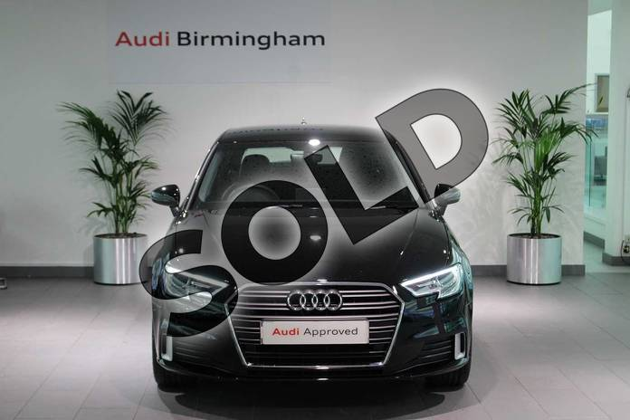 Image seven of this 2020 Audi A3 Diesel Sportback 35 TDI Sport 5dr S Tronic in Brilliant Black at Birmingham Audi