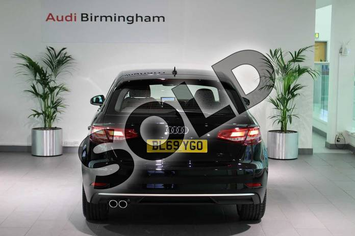 Image fifteen of this 2020 Audi A3 Diesel Sportback 35 TDI Sport 5dr S Tronic in Brilliant Black at Birmingham Audi