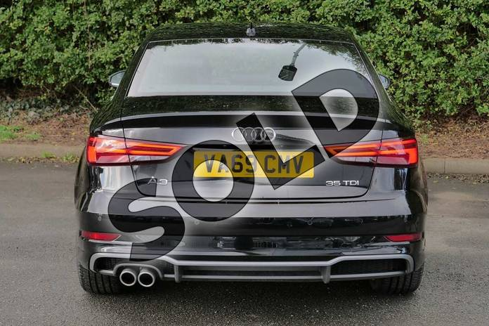 Image nine of this 2020 Audi A3 Diesel Saloon 35 TDI S Line 4dr in Myth Black Metallic at Worcester Audi