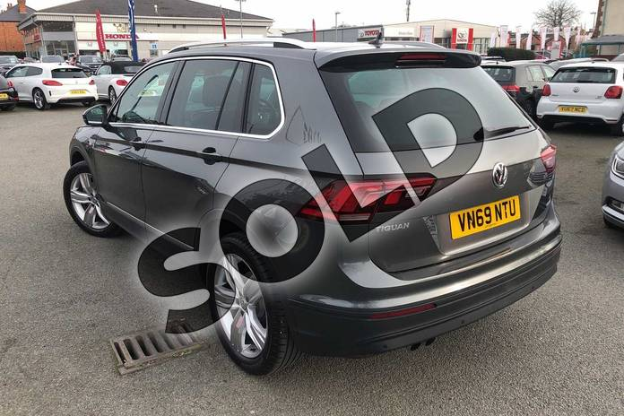 Image three of this 2020 Volkswagen Tiguan Estate 1.5 TSI EVO 150 Match 5dr DSG in Indium Grey at Listers Volkswagen Worcester