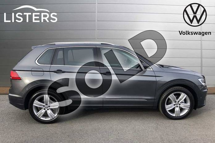 Image four of this 2020 Volkswagen Tiguan Estate 1.5 TSI EVO 150 Match 5dr DSG in Indium Grey at Listers Volkswagen Worcester