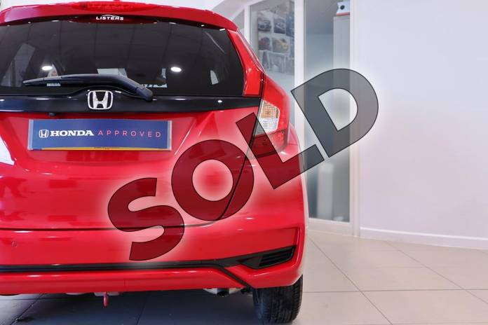 Image eleven of this 2018 Honda Jazz Hatchback 1.3 EX 5dr CVT in Milano Red at Listers Honda Northampton