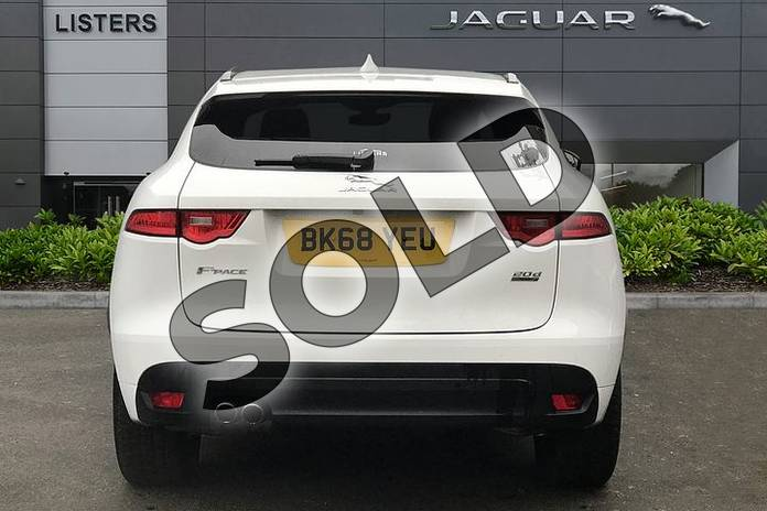 Image six of this 2018 Jaguar F-PACE Diesel Estate 2.0d R-Sport 5dr Auto AWD in Fuji White at Listers Jaguar Solihull