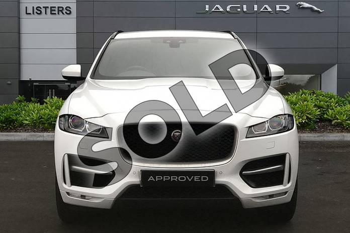 Image seven of this 2018 Jaguar F-PACE Diesel Estate 2.0d R-Sport 5dr Auto AWD in Fuji White at Listers Jaguar Solihull