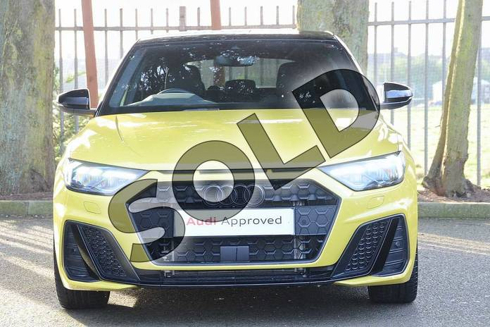 Image seven of this 2020 Audi A1 Sportback Special Editions 35 TFSI S Line Style Edition 5dr S Tronic in Python Yellow Metallic at Coventry Audi