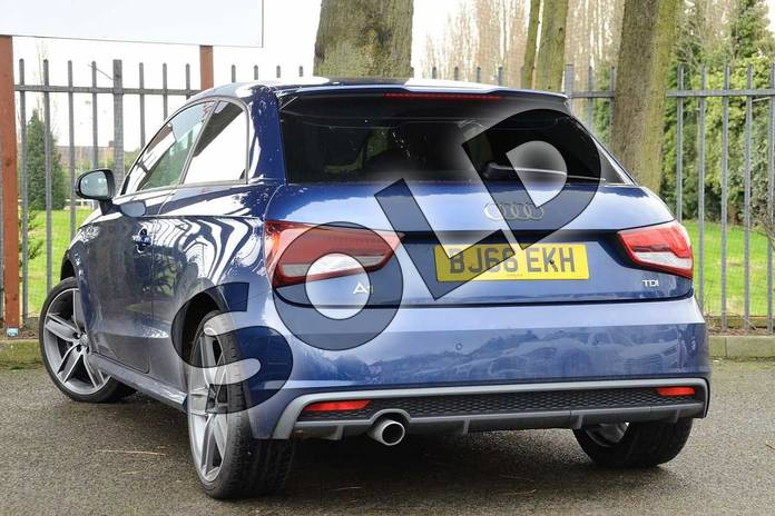 Image three of this 2016 Audi A1 Diesel Hatchback 1.6 TDI S Line 3dr in Scuba Blue Metallic at Coventry Audi