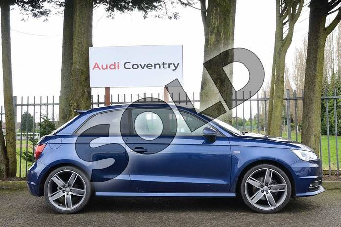 Image four of this 2016 Audi A1 Diesel Hatchback 1.6 TDI S Line 3dr in Scuba Blue Metallic at Coventry Audi