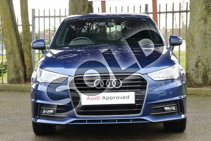 Image seven of this 2016 Audi A1 Diesel Hatchback 1.6 TDI S Line 3dr in Scuba Blue Metallic at Coventry Audi