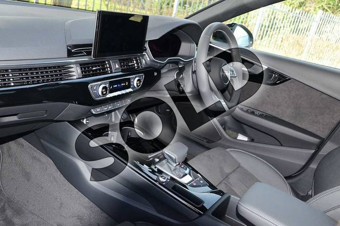 Image two of this 2020 Audi A4 Diesel Saloon 30 TDI Black Edition 4dr S Tronic in Quantum Grey at Coventry Audi