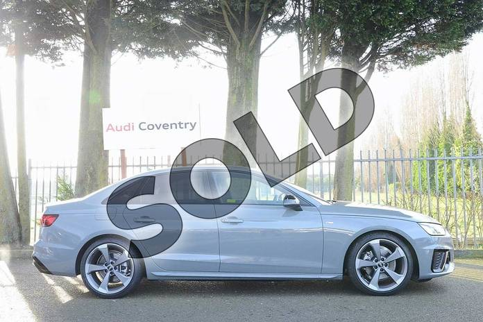 Image four of this 2020 Audi A4 Diesel Saloon 30 TDI Black Edition 4dr S Tronic in Quantum Grey at Coventry Audi