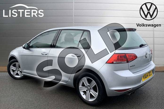 Image three of this 2015 Volkswagen Golf Hatchback 1.4 TSI Match 5dr in Reflex silver at Listers Volkswagen Stratford-upon-Avon