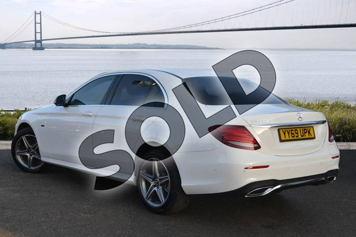 Image two of this 2020 Mercedes-Benz E Class Diesel Saloon E300de AMG Line Premium 4dr 9G-Tronic in Polar White at Mercedes-Benz of Hull