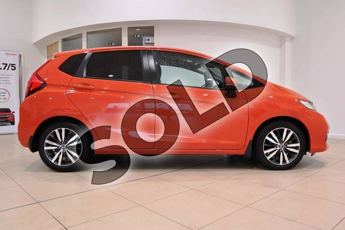 Image five of this 2018 Honda Jazz Hatchback 1.3 EX 5dr in Sunset Orange Ii at Listers Honda Coventry