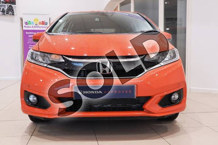 Image six of this 2018 Honda Jazz Hatchback 1.3 EX 5dr in Sunset Orange Ii at Listers Honda Coventry