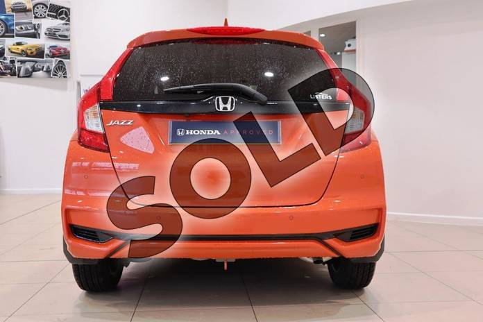 Image seven of this 2018 Honda Jazz Hatchback 1.3 EX 5dr in Sunset Orange Ii at Listers Honda Coventry