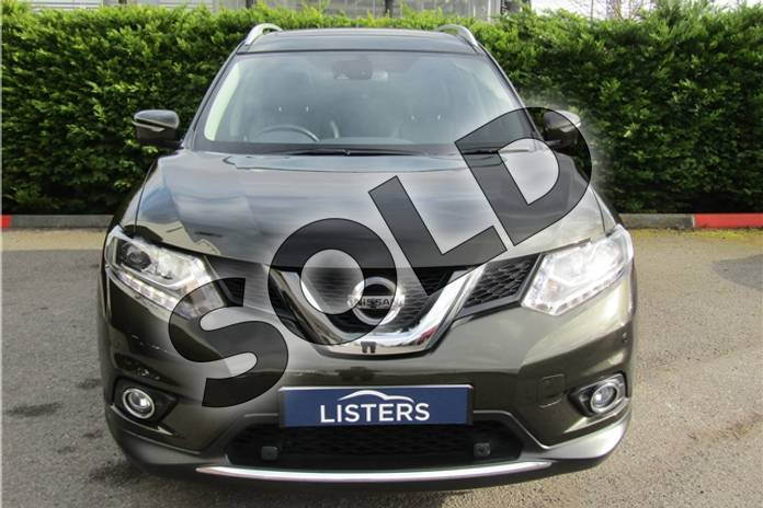 Image eight of this 2017 Nissan X-Trail Diesel Station Wagon 1.6 dCi Tekna 5dr in Metallic - Titanium olive at Listers U Boston