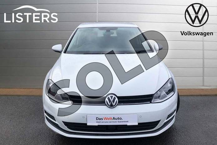 Image seven of this 2016 Volkswagen Golf Diesel Hatchback 1.6 TDI 110 Match Edition 5dr in Pure White at Listers Volkswagen Worcester