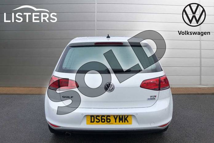 Image nine of this 2016 Volkswagen Golf Diesel Hatchback 1.6 TDI 110 Match Edition 5dr in Pure White at Listers Volkswagen Worcester