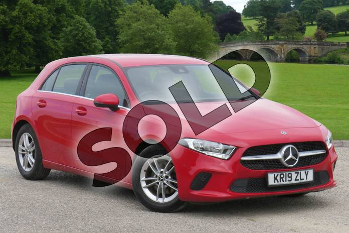 Picture of Mercedes-Benz A Class A 180 d SE in Jupiter Red