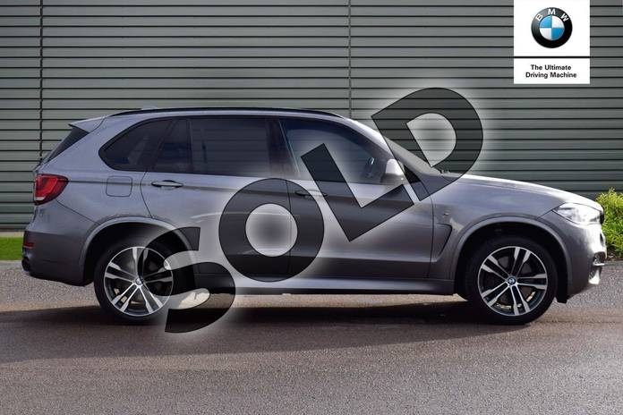 Image two of this 2015 BMW X5 Diesel Estate xDrive M50d 5dr Auto (7 Seat) in Space Grey at Listers Boston (BMW)