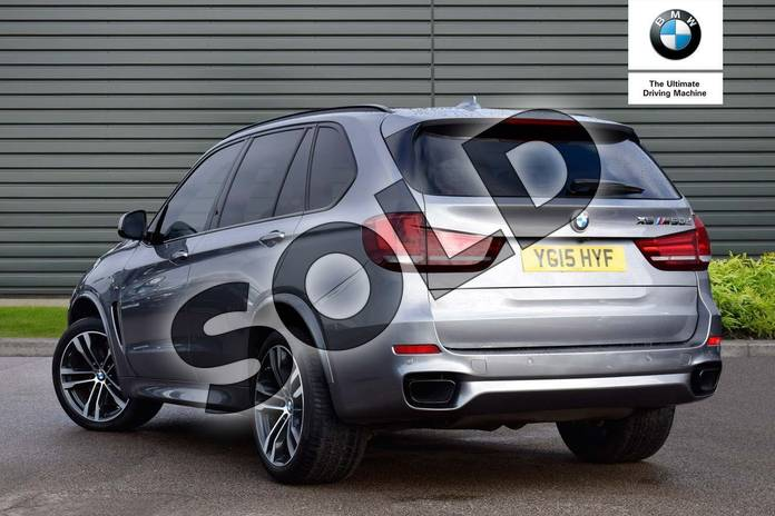 Image three of this 2015 BMW X5 Diesel Estate xDrive M50d 5dr Auto (7 Seat) in Space Grey at Listers Boston (BMW)