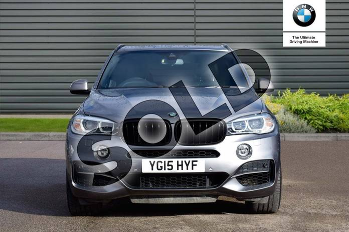 Image four of this 2015 BMW X5 Diesel Estate xDrive M50d 5dr Auto (7 Seat) in Space Grey at Listers Boston (BMW)