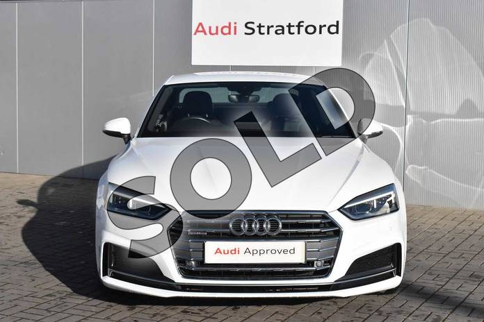 Image seven of this 2017 Audi A5 Diesel Coupe 2.0 TDI Quattro S Line 2dr S Tronic in Ibis White at Stratford Audi