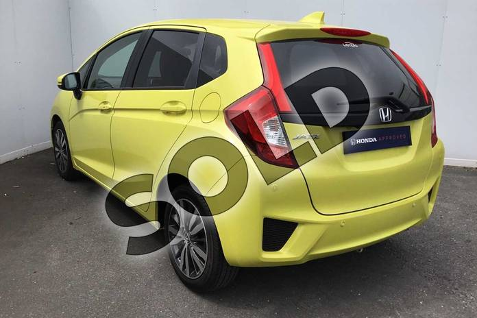 Image three of this 2017 Honda Jazz Hatchback 1.3 EX 5dr in Attract Yellow at Listers Honda Coventry