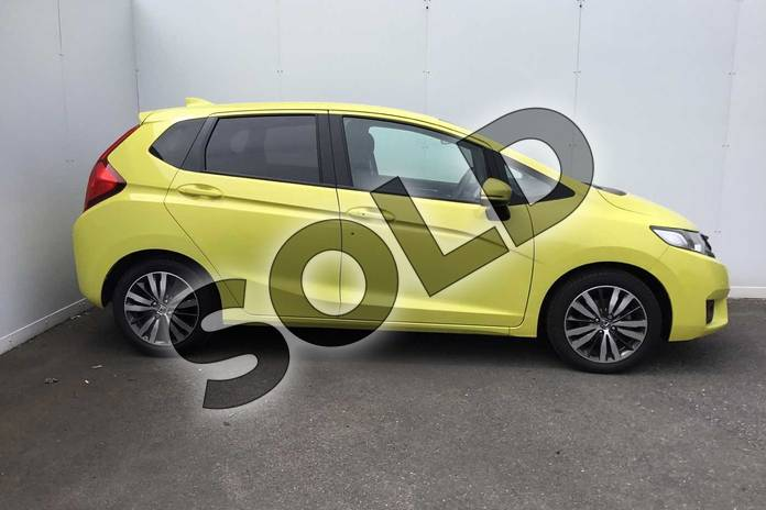 Image five of this 2017 Honda Jazz Hatchback 1.3 EX 5dr in Attract Yellow at Listers Honda Coventry